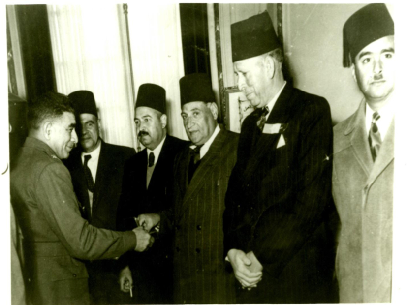 Major General Mohammed Najib visit to the Gaza Strip in 1952..pdf